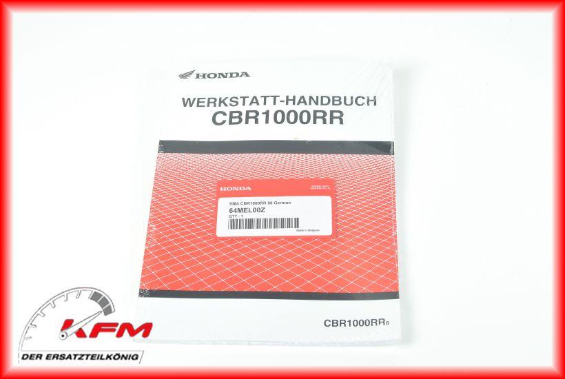 Das Bild zeigt Honda Artikel 64MEL-00Z (c) KFM-Motorräder