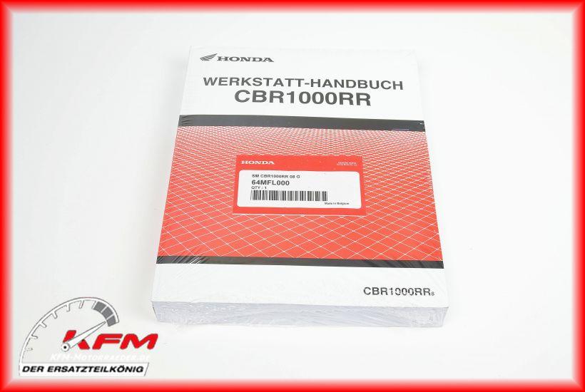 Das Bild zeigt Honda Artikel 64MFL-000 (c) KFM-Motorräder