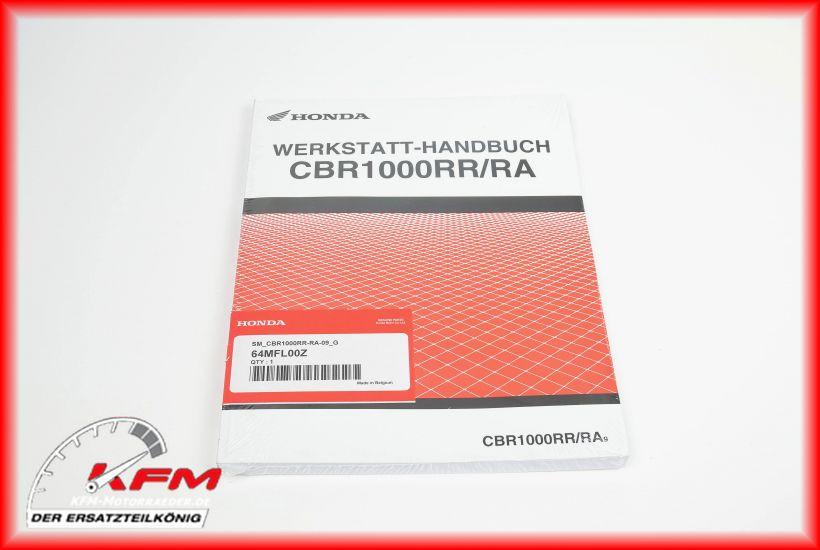 Das Bild zeigt Honda Artikel 64MFL-00Z (c) KFM-Motorräder