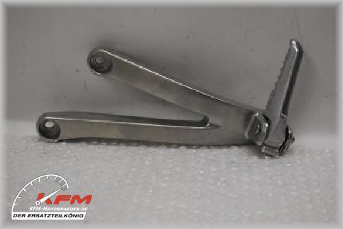 Honda CBR600 CBR 600 RR PC40 07-11 Soziusfußraste links NEU