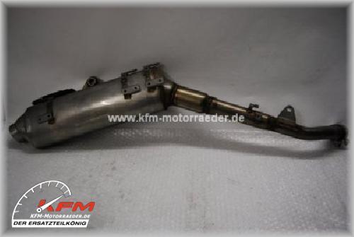 Honda XL1000V XL 1000V 03-06 Auspuff Schalldämpfer rechts