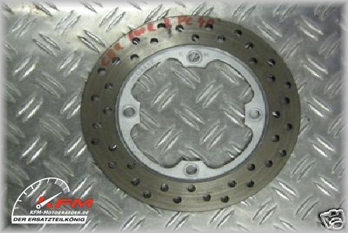 Honda CBR600RR CBR600 CBR 600 07-12 PC40 PC 40 Bremsscheibe Bremse hinten