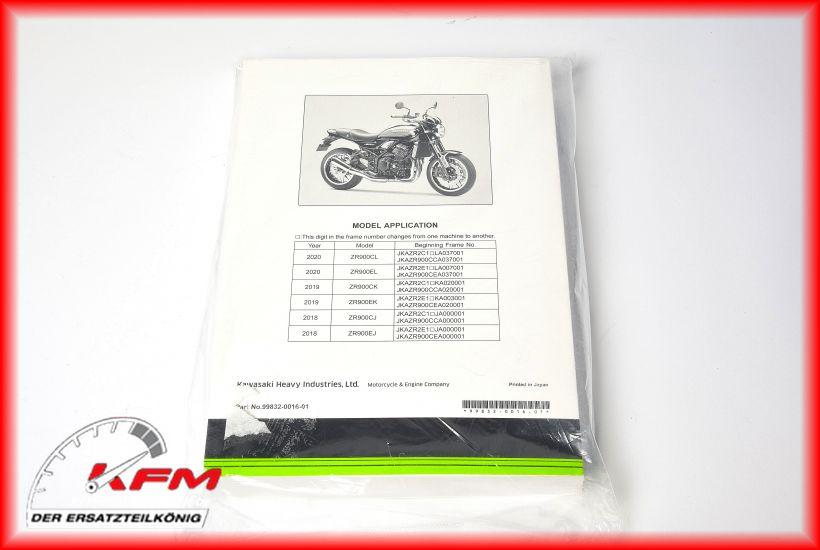 Kawasaki 99832-0016-01 #1 (c) KFM-Motorräder
