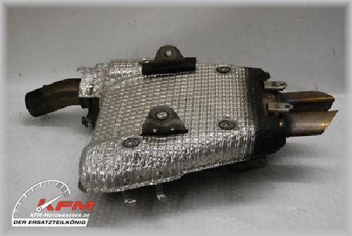 Kawasaki ZX 6R ZX6R BJ 07 08 Auspuff Schalldämpfer