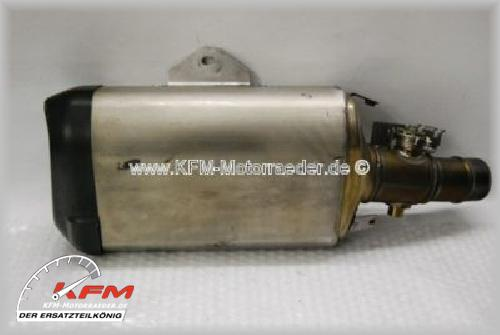 Kawasaki ZX6R ZX 6R 6 R 09-10 Schalldämpfer Auspuff