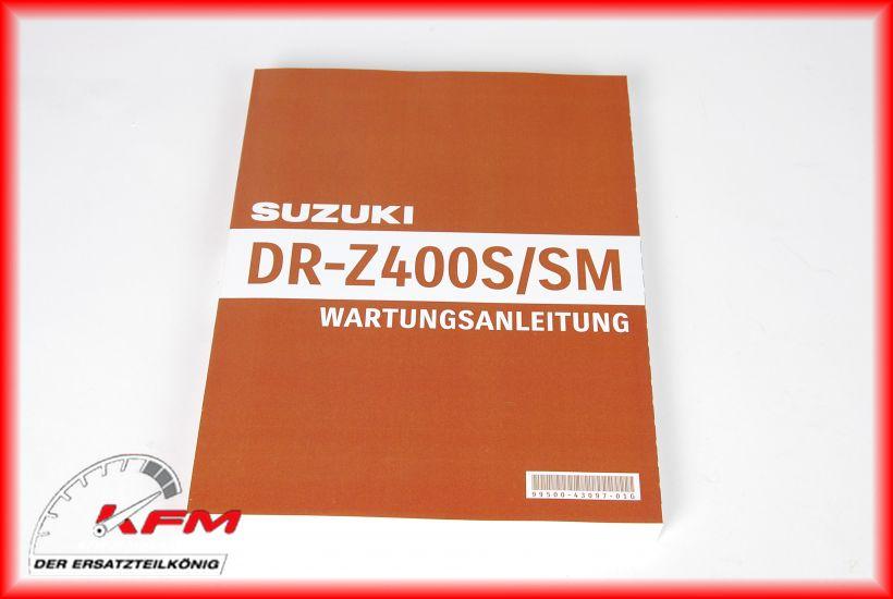 Das Bild zeigt Suzuki Artikel 99500-43097-01G (c) KFM-Motorräder