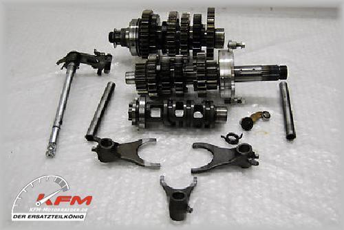 Triumph 675 R Street Triple 675R 2010 Getriebe 4300km
